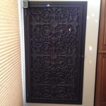 Large Asian Panel shown in Dark Bronze